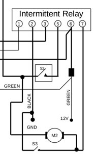 Washer Pump Wiring